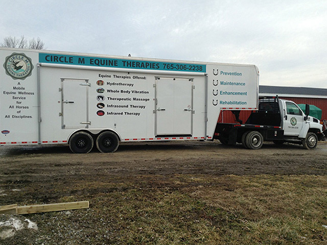 Mobile Equine Spa